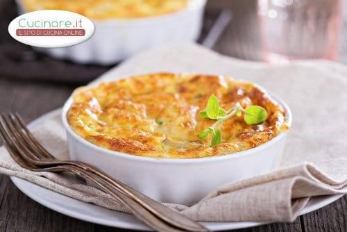 Frittata al forno con semolino for Cucinare wurstel al forno
