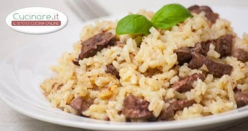Risotto al rag di fegato di coniglio for Cucinare risotto