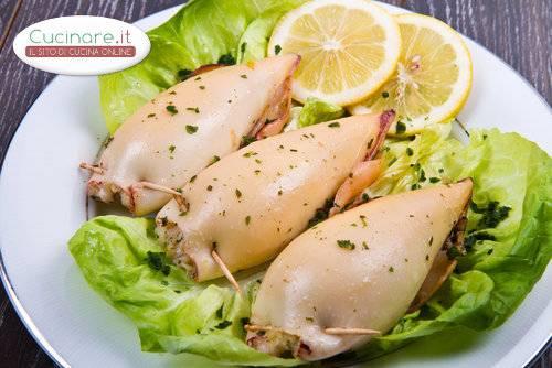 Calamari ripieni di cous cous for Cucinare cous cous