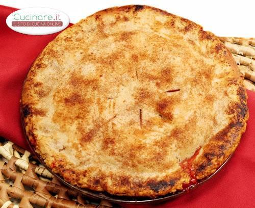 Torta salata con trota affumicata for Cucinare trota