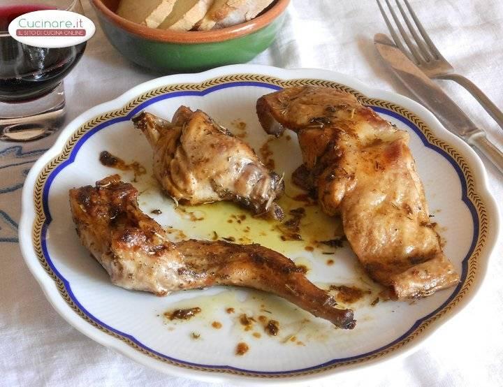 Ricetta coniglio arrosto for Cucinare coniglio