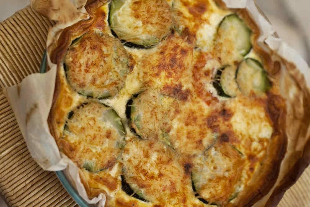 Torta di zucchine - Cosa cucinare oggi a pranzo ...
