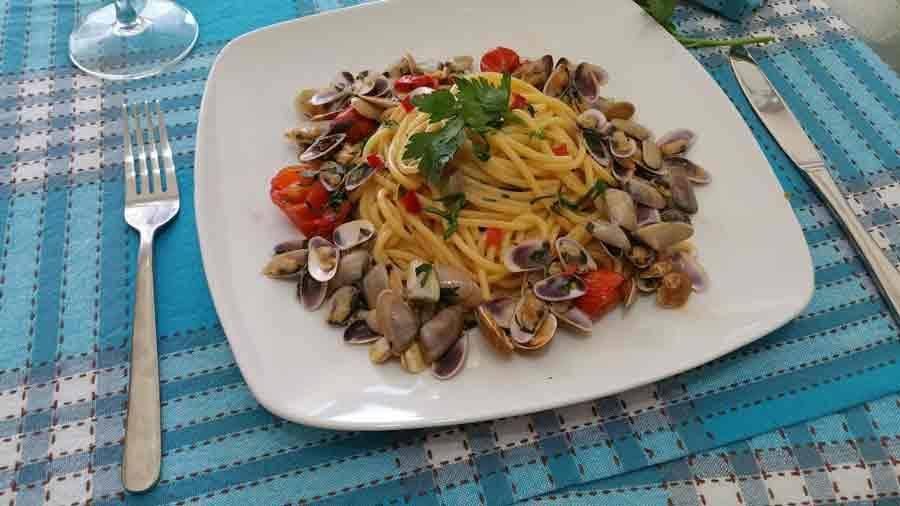 Ricetta Spaghetti alle telline - Le Ricette di Buonissimo