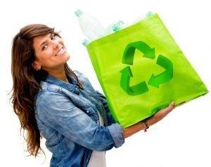 Risparmiare sulla spesa sacchetti riutilizzabili