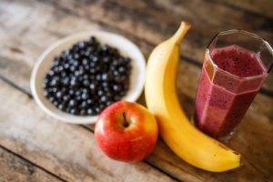 Dieta sana Mirtilli Mela Banana