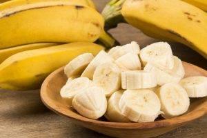 Cibi del buonumore Banane