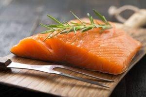 Cibi del buonumore Salmone