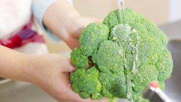 come puire i broccoli preparazione