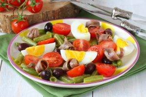 insalata con fagiolini