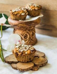 muffin con datteri