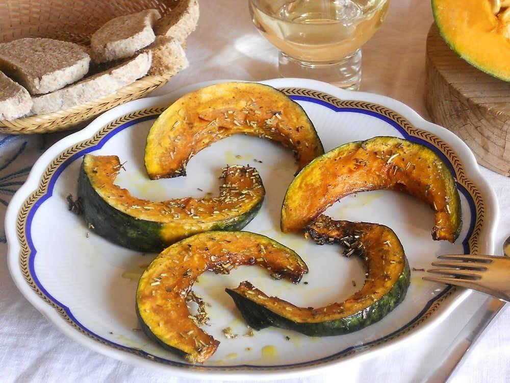 Zucca al forno for Cucinare wurstel al forno