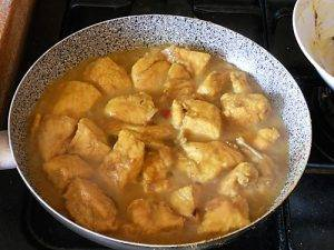 Pollo al Curry preparazione 12