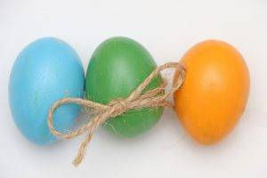 Ricetta uova sode decorate per Pasqua