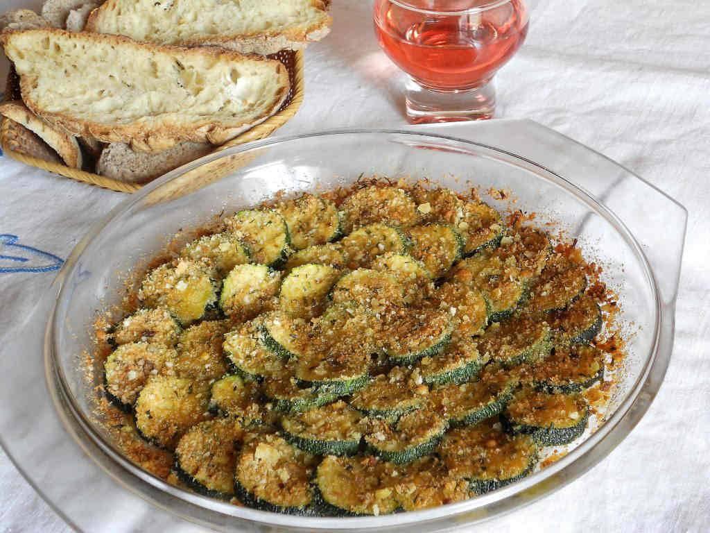 Cosa Cucinare Per Molte Persone zucchine gratinate, un contorno sfizioso!