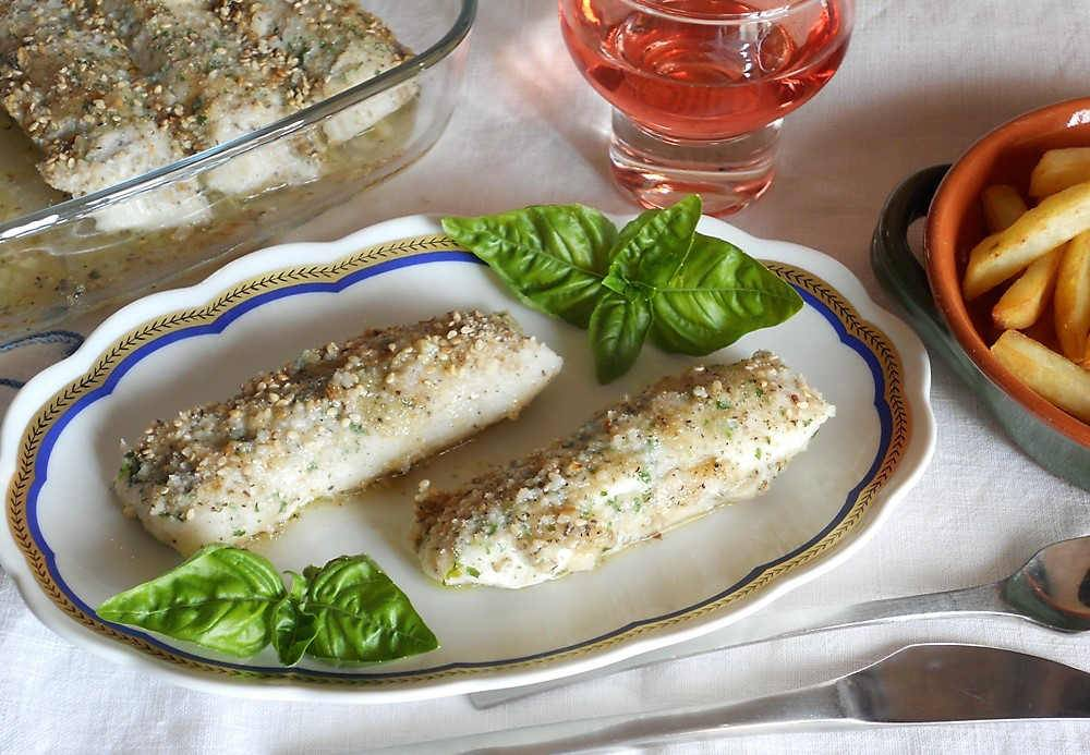 Filetti di merluzzo gratinati secondo di pesce facile e for Casa del merluzzo