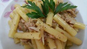ricetta pasta con tonno cipolle