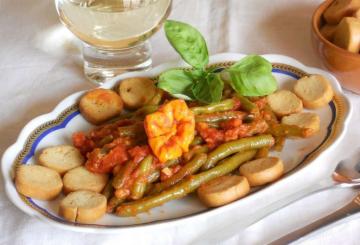 Zucca al forno - Cucinare i fagiolini ...