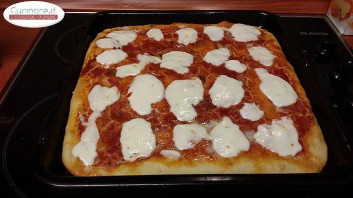 Teglia di pizza al forno for Tempo cottura pizza forno ventilato