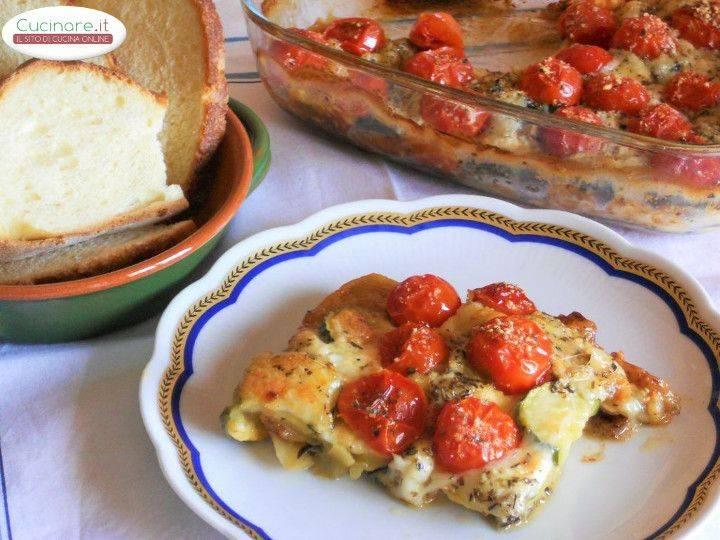 Teglia Di Verdure E Mozzarella Cucinare It