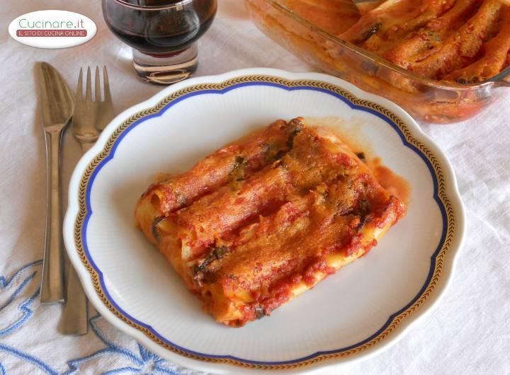 Cannelloni ripieni di mozzarella for Cucinare 5 minuti