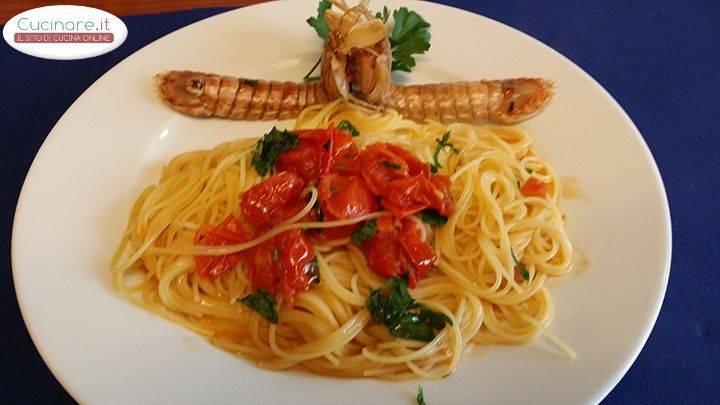 Capellini Con Le Cicale Di Mare Cucinare It