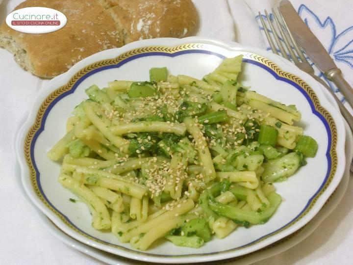 Caserecce Light Con Broccolo E Semi Di Sesamo Cucinare It
