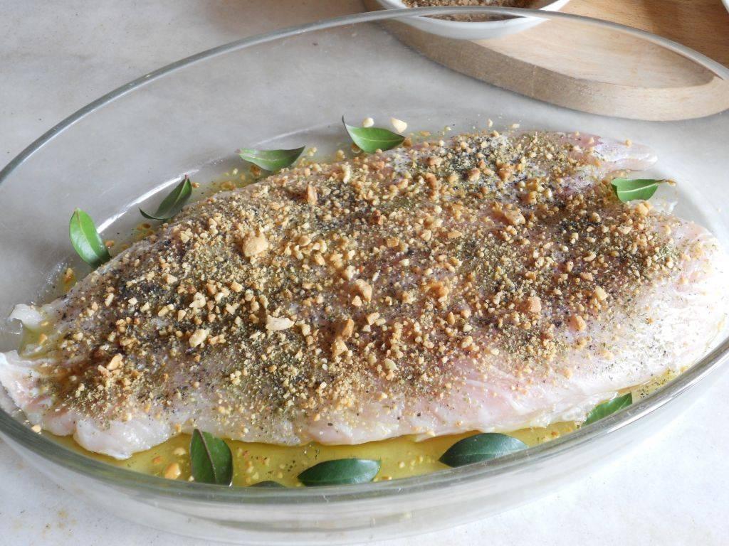 Pesce persico al forno - Cucinare pesce persico ...